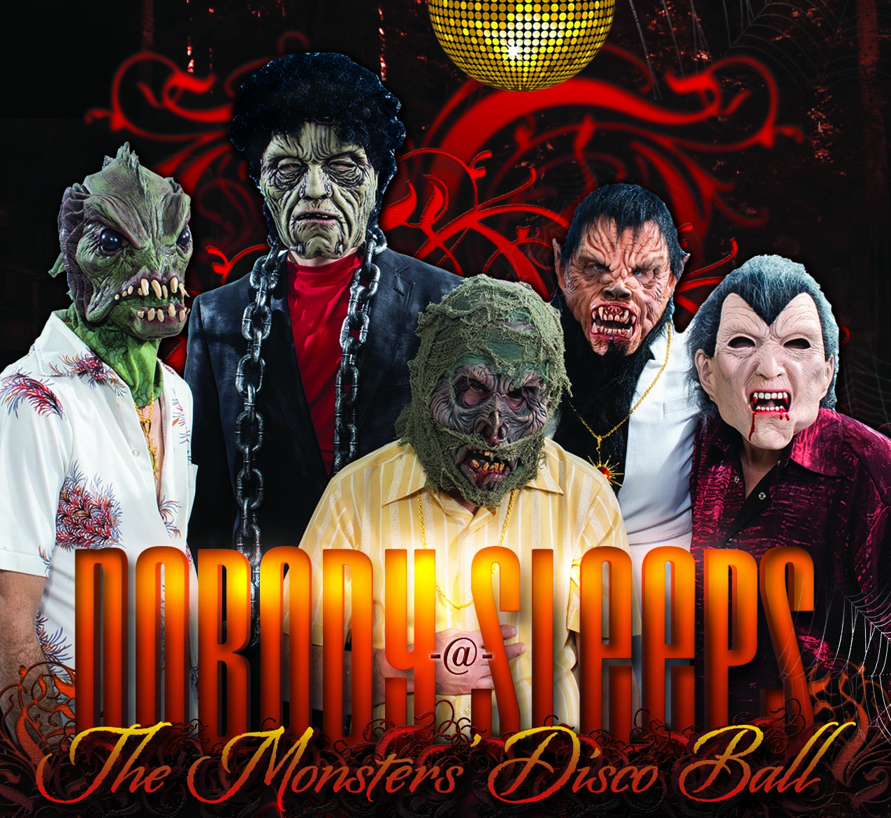 Monsters Disco Ball Image 2019